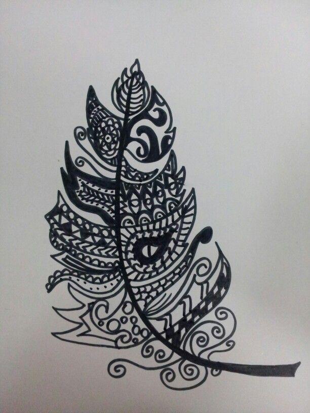 Zentangle black&white