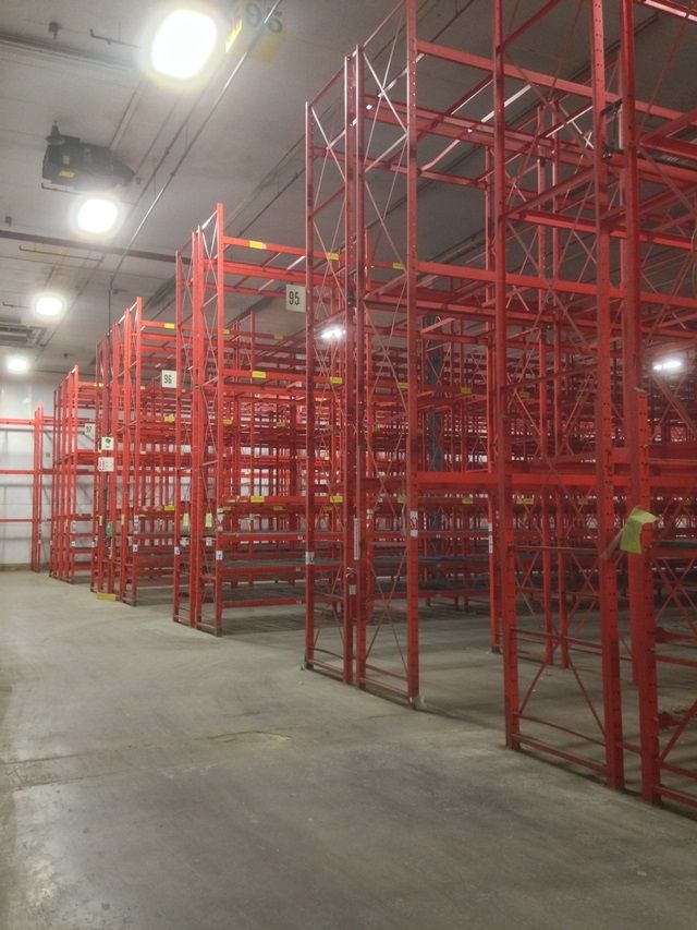 Used Structural Pallet Rack For Sale Now