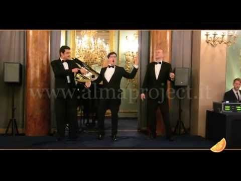 ALMA PROJECT - Three Tenors - O' Sole Mio - YouTube