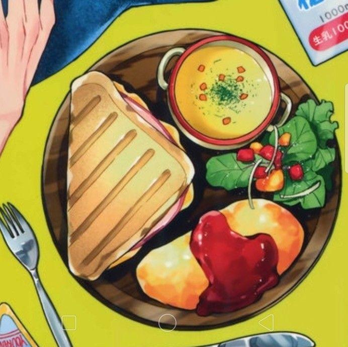 ป กพ นโดย Shanice Maxwell ใน A Anime Foods อาหาร
