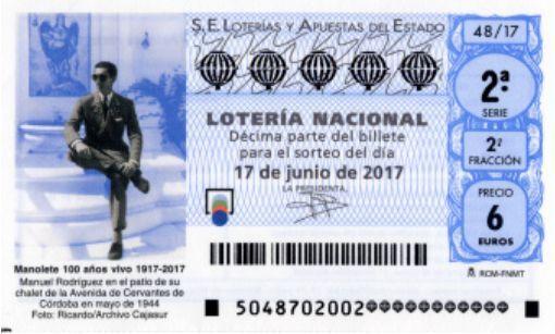 #LoteriaNacional resultados 17/06/2017