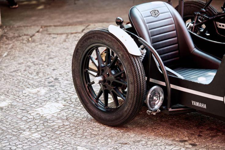 A Bit On The Side: the Deus x Yamaha D-Side custom sidecar rig.