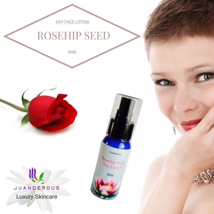Rosehip Seed Day Face Lotion 50ml $30.00 Organic rosehip seed oil and organic aloe vera, with many more natural ingredients make this light nutritional day lotion. This skincare product hydrates, rejuvenates and leaves your skin soft, subtle and glowing. Improve the appearance of fine lines and wrinkles, tired eyes and tighten loose skin.