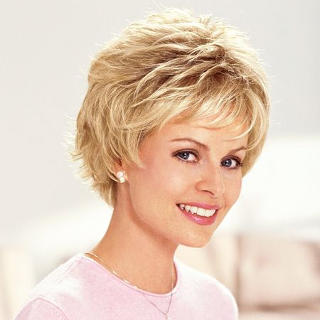 Cancer Patients Wigs, Chemo Wigs, Hair Loss Wigs, Short Wigs, Monofilament Wigs, Wigs For Women - TLC