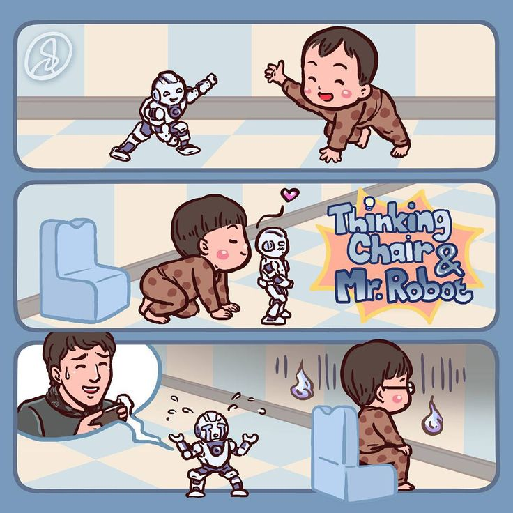 """Thinking chair & Mr. Robot""  #DaehanMingukManse #송대한 #송민국 #송만세 #대한민국만세#SongIlKook #송일국 #TeamDaehanMingukManse #TeamSongIlKook"