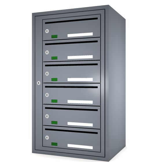 Svenskboxen 1x6  Article number:   SVB16-9995-1000    En komplett postbox med marknadens högsta säkerhetsklass. Svensk-boxen är förberedd för ellåsinstallation som standard och uppfyller användbarhetskraven från Bygg klokt för personer med funktions-nedsättningar.        Svenskboxen är den enda postboxen på marknaden som erhållit den högsta säkerhetsklassen (säkerhetsklass II) vilket innebär att den motstår inbrottsförsök bäst av alla boxar.