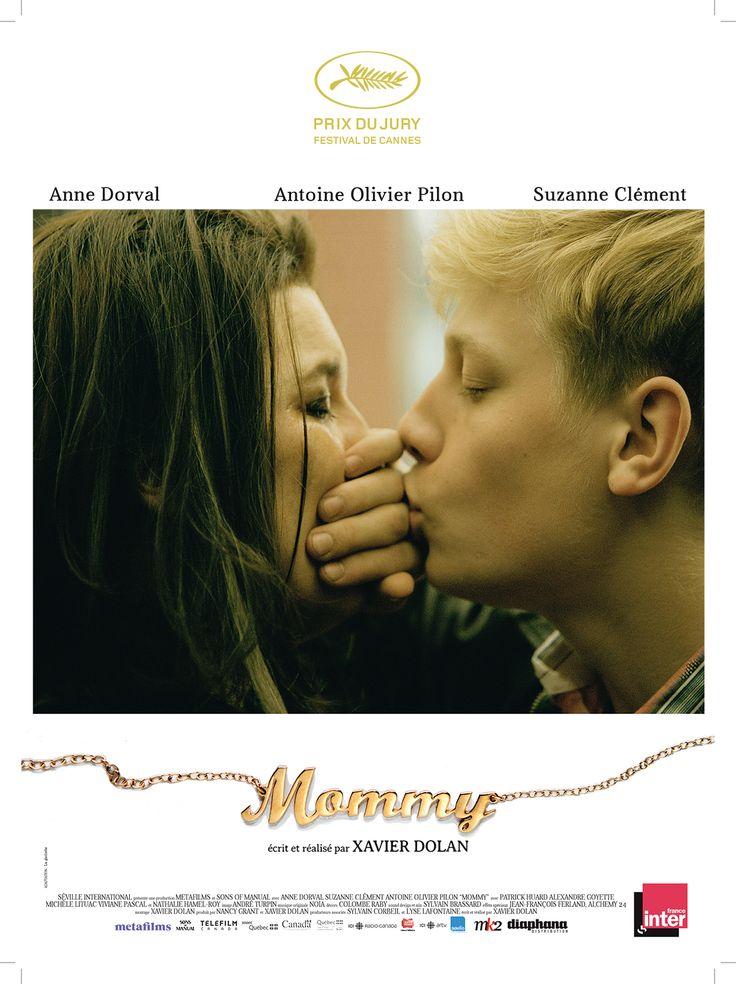 Mommy est un film de Xavier Dolan avec Antoine-Olivier Pilon, Anne Dorval. Synopsis : Une veuve mono-parentale hérite de la garde de son fils, un adolescent TDAH impulsif et violent. Au coeur de leurs e