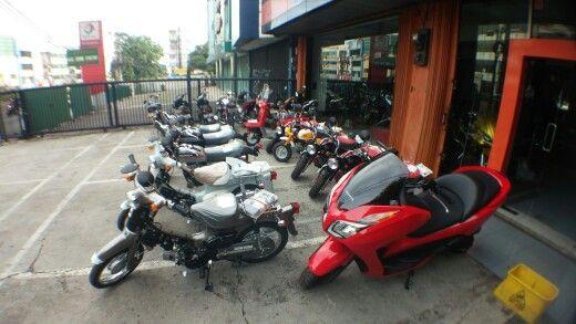 Hobby motor motorcycle