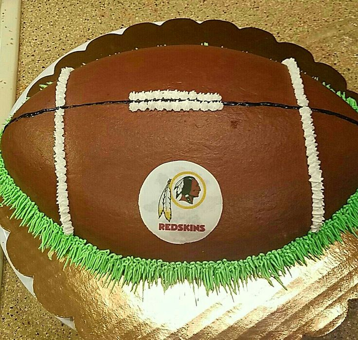 Redskins Football Birthday Cake🏈🎂🏈