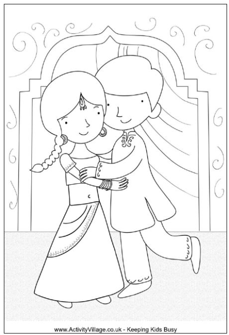 Bhai Dooj colouring page PreSchool Ideas! Pinterest