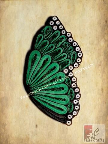 Halfway there. Reserved but can be made to order. #butterfly #papercraft #handmade #giftsandcraftsph #green #gcphbutterflyproject #gcphbutterflywings #ilovegcph For order and queries Sms/call 09235861899 or msg us on facebook.com/giftsandcraftsph Follow us on twitter @GiftsCraftsPH and IG @giftsandcraftsph