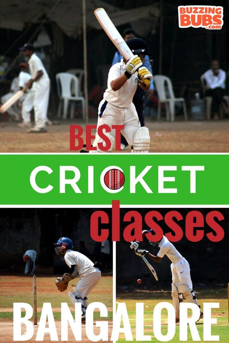 Best cricket classes for kids in the city of Bangalore. Are your kids interested in cricket? Do they follow the score, ball by ball and practice shots off the living room wall? Save your energy (and your home!) by enrolling them today.  #BBForKids #Bangalore #Cricket #Classes #ThingsToDo