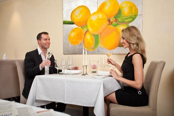 Menü für Verliebte im Restaurant Moritz Dresden - Romantikwochenende