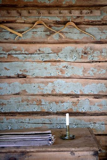 30 Cool Grunge Interior Designs Stencils On And Old Wood