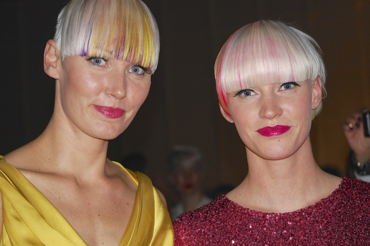 It's all about the Fringe… and playing with Platinum Blonds