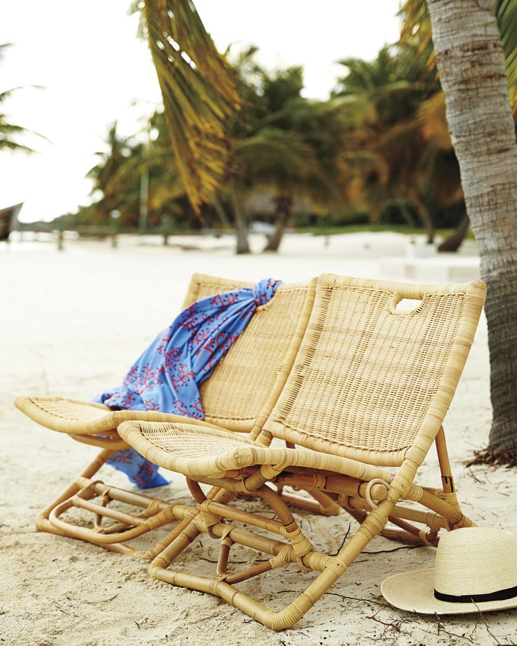 Paradise! Palisades ChairPalisades Chair are simply gorgeous // Beach // Beach Chairs // Summer