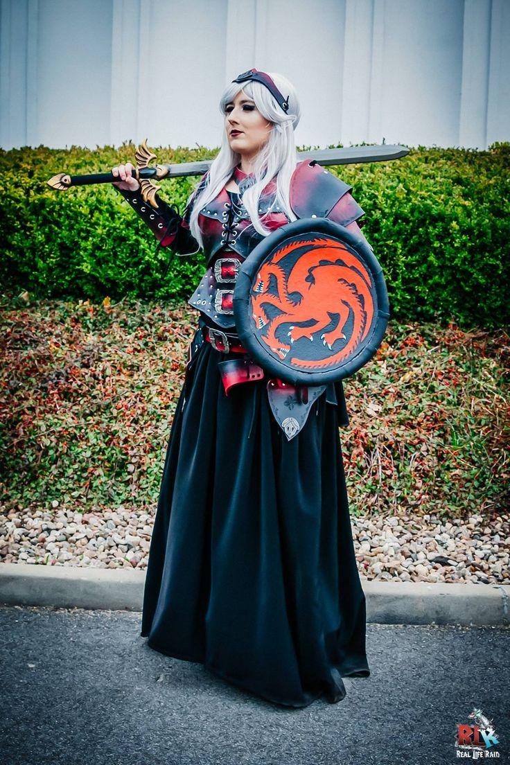 trailer to season 6 GoT #GameOfThrones #GOT cosplay, Targaryen cosplay