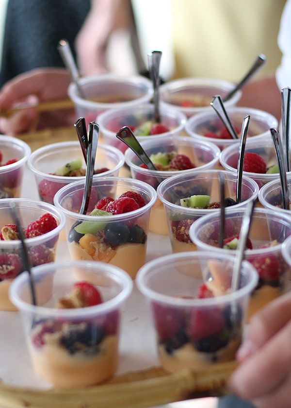 fruit cup appetizers