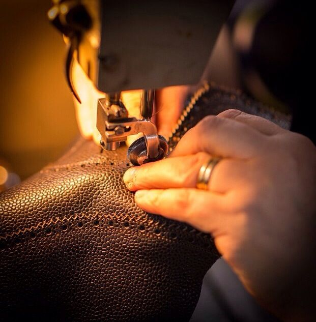 """""""A man who works with his hands is a laborer; a man who works with his hands and his brain is a craftsman; but a man who works with his #hands and his #brain and his heart is an #artist."""" Louis Nizer #velascamilano #madeinitaly #shoes #shoesoftheday #shoesph #shoestagram #shoe #fashionable #mensfashion #menswear #gentlemen #mensshoes #handmade #craftsmanship"""