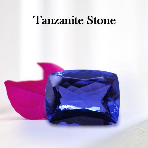 8.92 Carats Cushion tanzanite