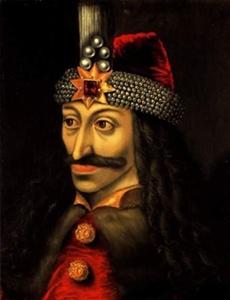 """""""Vlad el héroe, el vampiro, el extranjero""""   """"Vlad the hero, the vampire, the foreigner"""""""