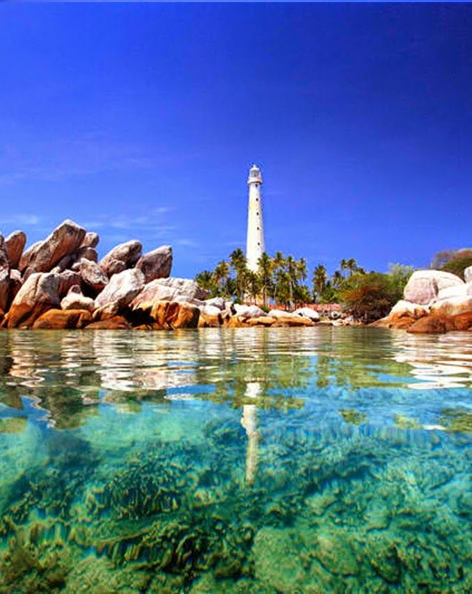 Galangal Island, Bangka Belitung,Indonesia