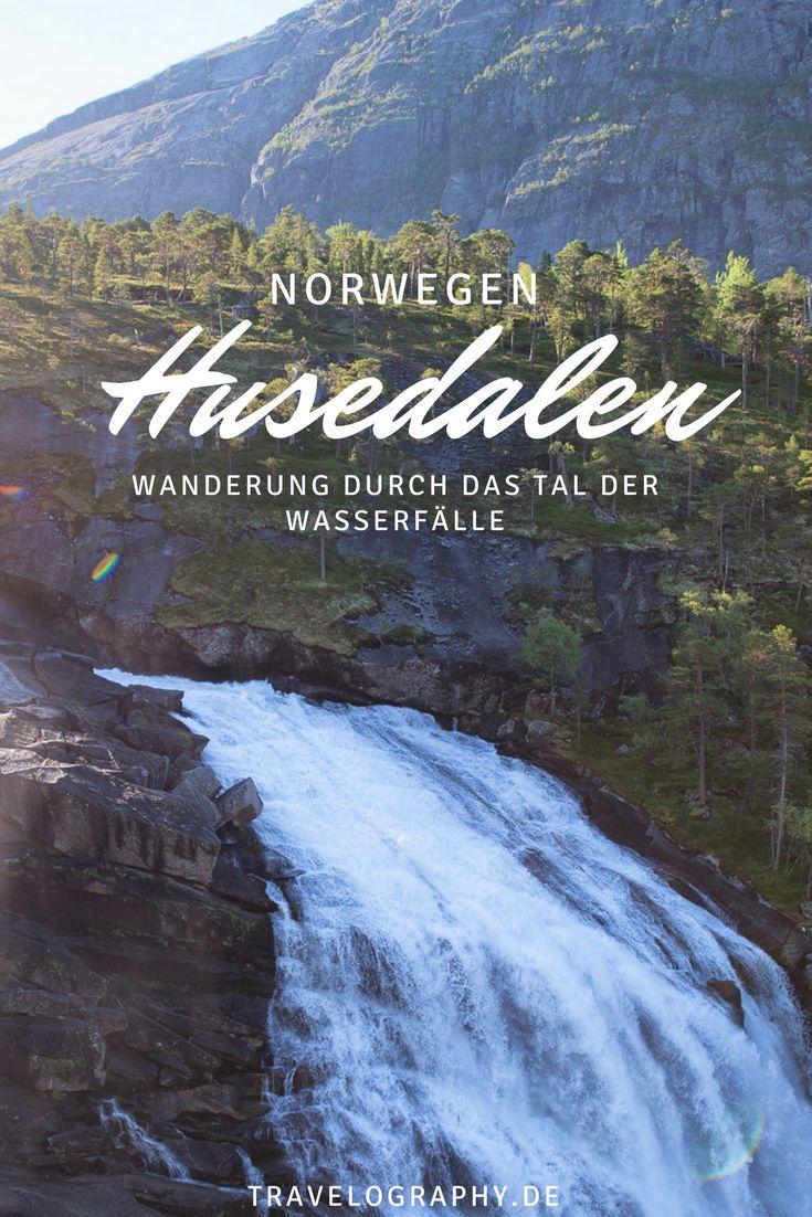 Husedalen – das Tal der Wasserfälle