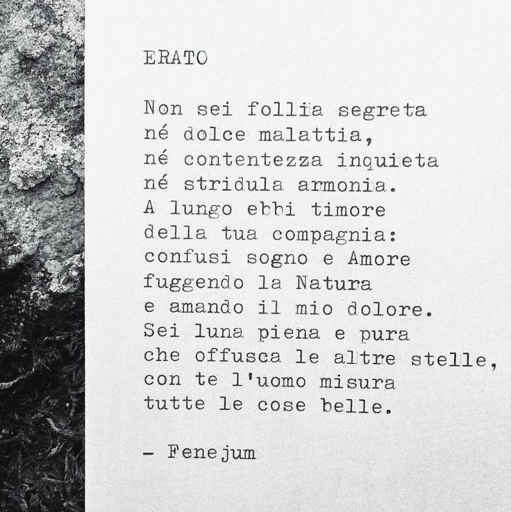 Fenejum, Erato (musa della Poesia Amorosa)