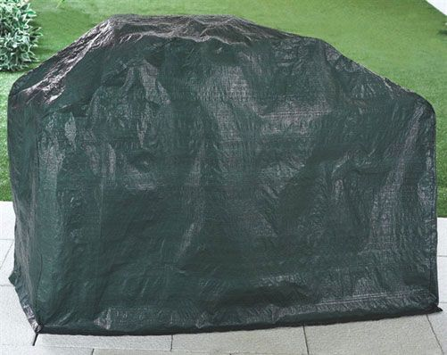 BBQ Cover £15  Protect your barbecue from dirt, dust and rain with this heavy duty vinyl cover. Fits even large barbecues, simply slip over. Size H150 x D49 x W107cm  KLife Kleeneze