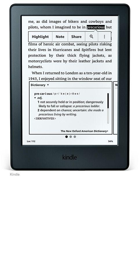 Kindle Paperwhite E-reader – Amazon Official Site