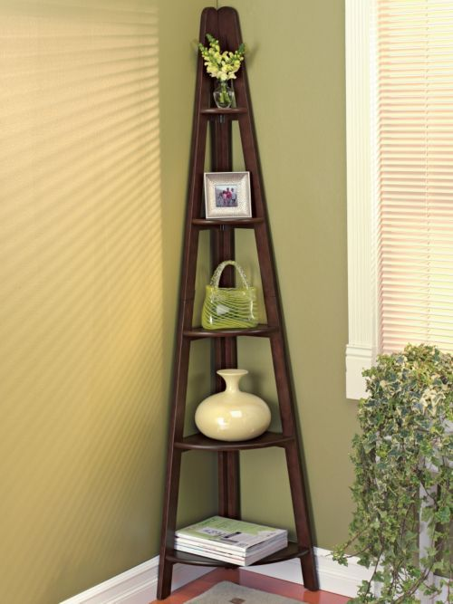best 25 corner ladder shelf ideas on pinterest ladder. Black Bedroom Furniture Sets. Home Design Ideas