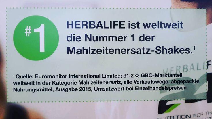 """""""Wusstest Du schon das #Herbalife #weltweit die #Nummer1 #mahlzeitenersatz  #shakes ist? #beimirerhältlich Sabías que Herbalife es el #numero1 a…"""""""