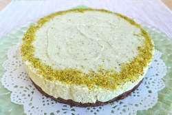 » Cheesecake al pistacchio - Ricetta Cheesecake al pistacchio di Misya