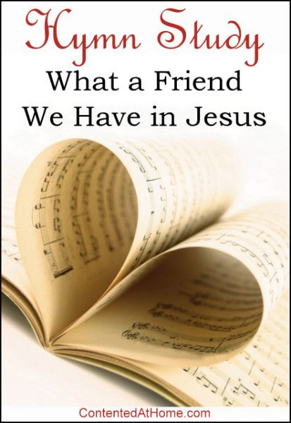 Hymn Study: What a Friend We Have in Jesus - Designed to make hymn study easy and enjoyable for homeschooling families, this FREE unit includes the hymn's history, lyrics, copywork, notebooking pages, and more!