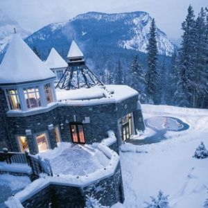 Fairmont Banff Springs, Banff, Canada. Straight out of a fairytale.