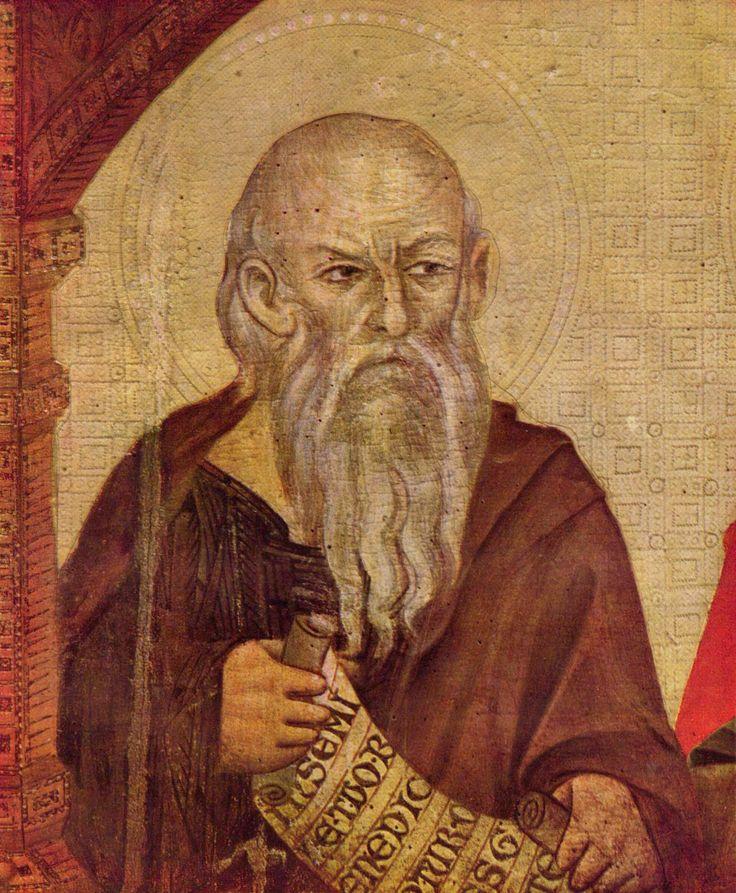 Cimabue - Madonna con Angeli e un profeta (Detail)