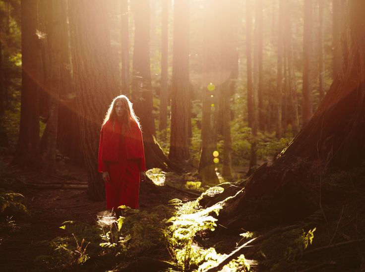 Lost in the Forest | Jacket, Vionnet; Dress Anna October; Clutch, Olympia Le Tan