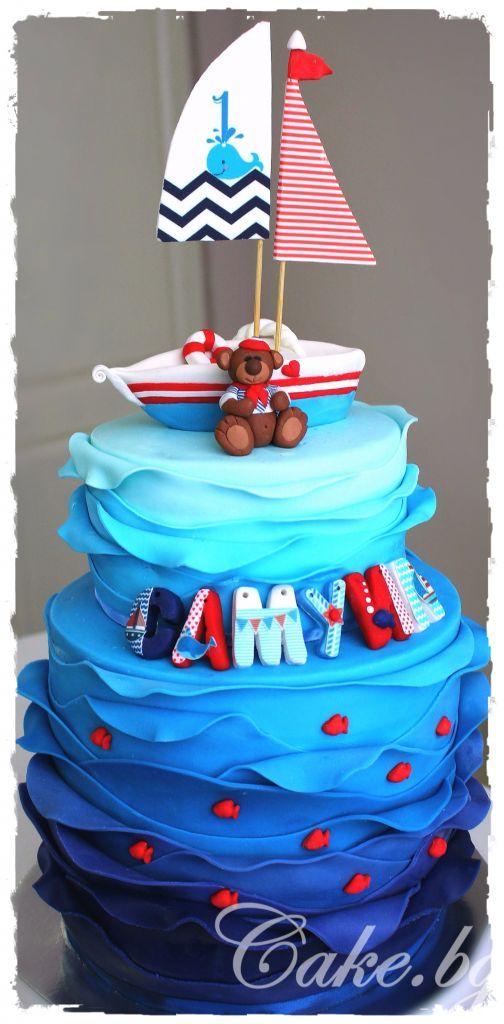 How to make a nautical cake – Cake.bg