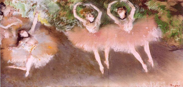 Degas Cena de Ballet, 1879