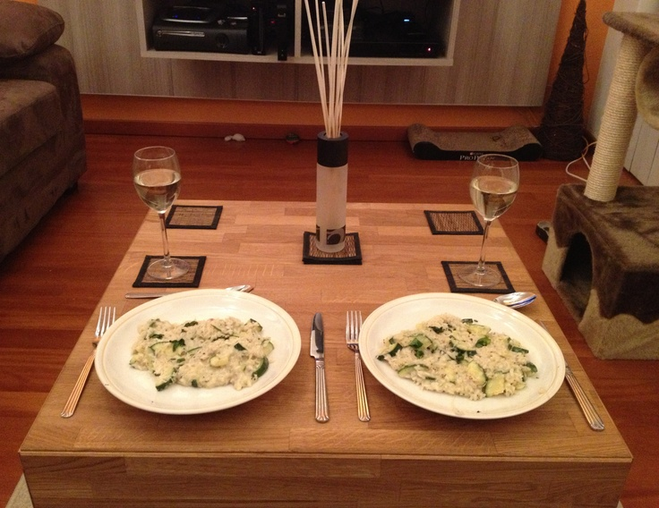 My boyfriend's first cooking session :)