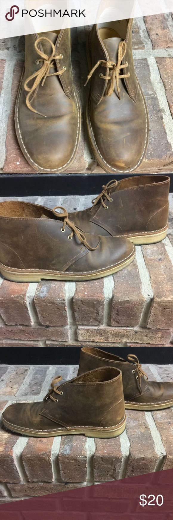 Clarks Desert Boot Hate to part with these.... Clarks Shoes Combat & Moto Boots