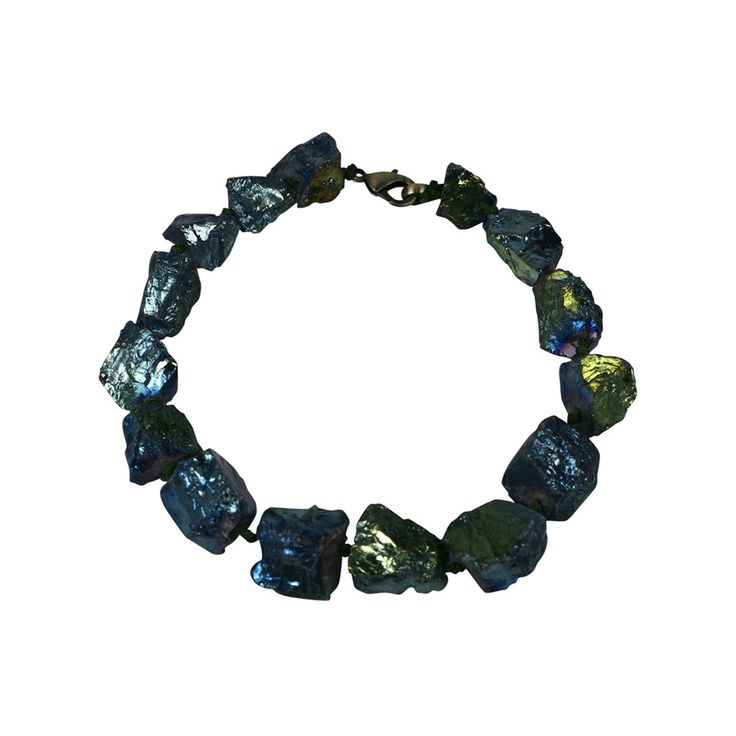 Mark Walsh, Leslie Chin - Green Moon Rock Necklace, MWLC