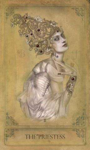 The Sepia Stains #Tarot-The Priestess: Card Art, Sepia Stains, High Priestess, Stains Tarot Th, Tarot Card, Tarotcard, Http Www Sepiastainstarot Com, Tarot Decks, Tarot Art