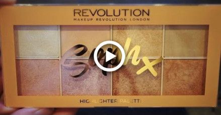 Makeup Revolution Soph Textmarker-Palette SWATCHES | TheBeautyJournals   – Nails & MakeUp!