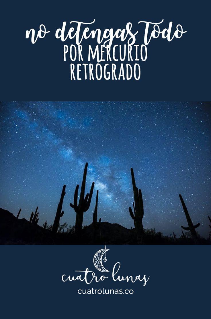 Se aproxima Mercurio Retrógrado, un momento especial para la introspección y para aprender.
