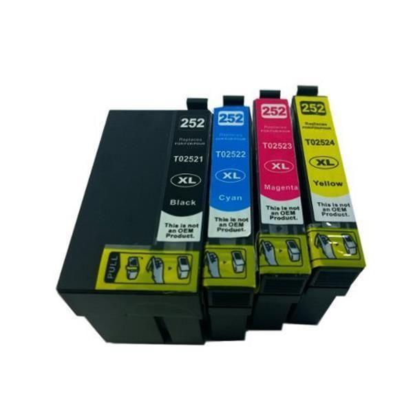Epson 252XL Compatible Inkjet Cartridge Set [Boxed Set]