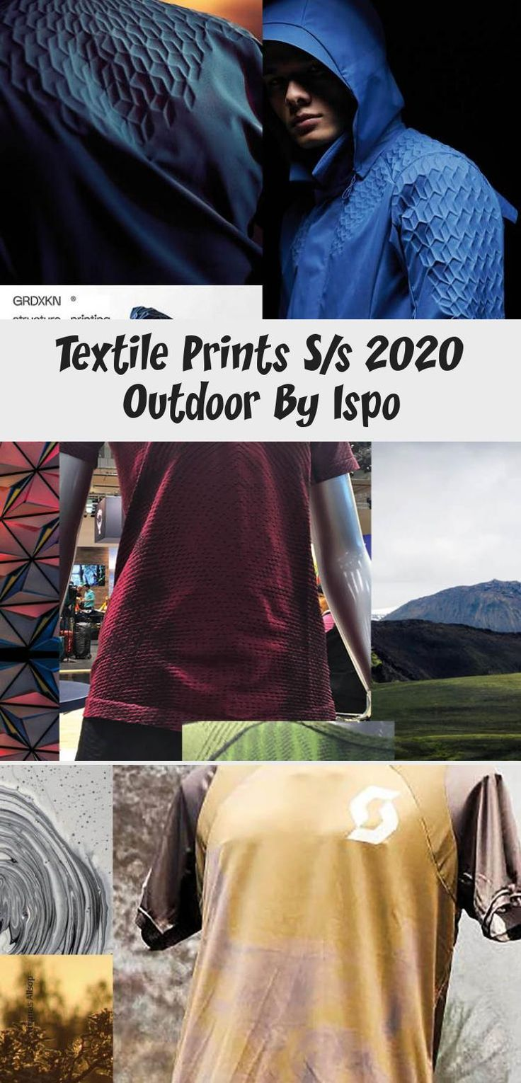 Textile Prints S/s 2020 Outdoor By Ispo Winter trends