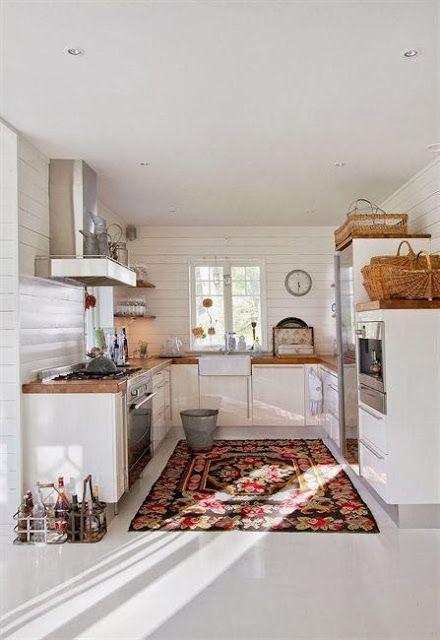 English Quaint Country Cottage Kitchens
