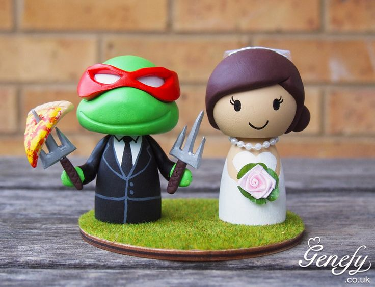 195 best Cute Wedding Cake Toppers by Genefy Playground ...