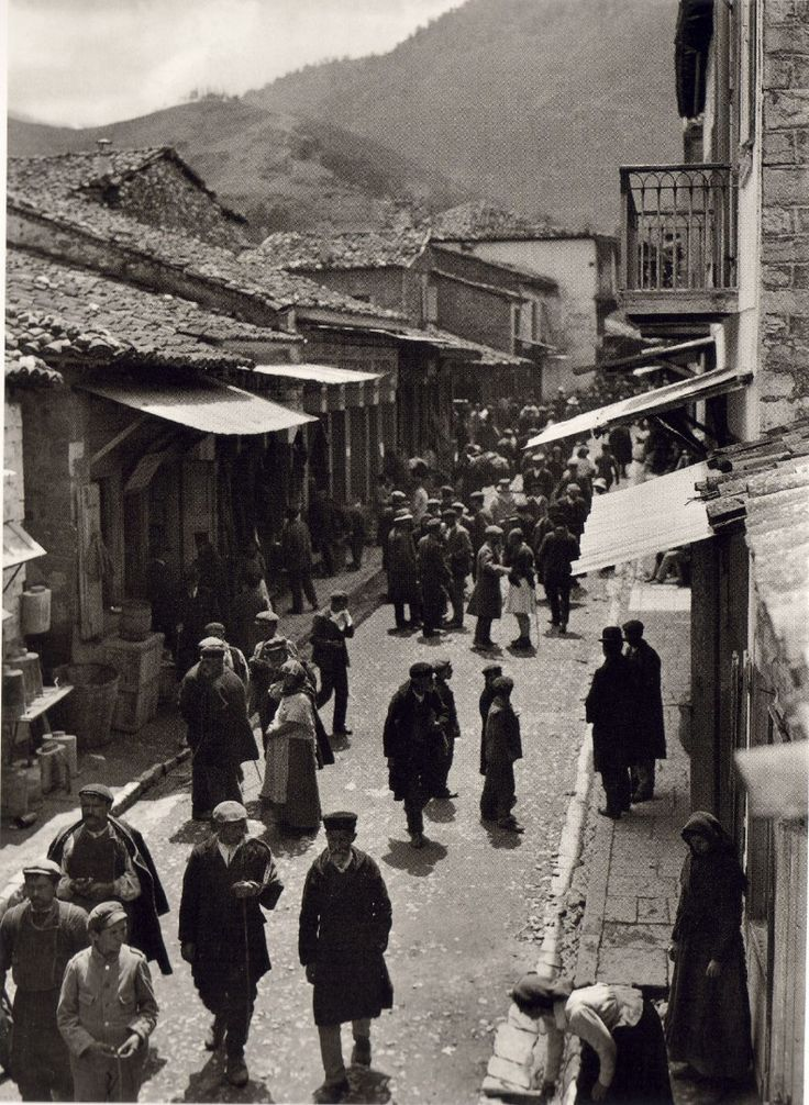 This is my Greece | Kalavryta by Fred Boissonnas (1903-1930)